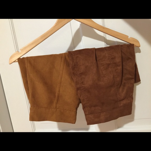 Dresses & Skirts - Faux suede skirts